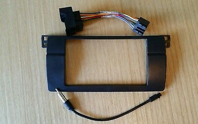 Bmw e46 Ariel adapter and iso lead (NO DOUBLE DIN FACIA)