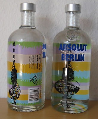 Absolut BERLIN Vodka Wodka 700ml Limited-Edition *Full & Sealed*