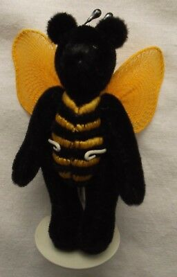 World of Miniature Bears Buzz Bee Bear Hand Made Limited Edition