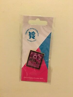 London 2012 Olympic Games Modern Pentathlon Pin Badge