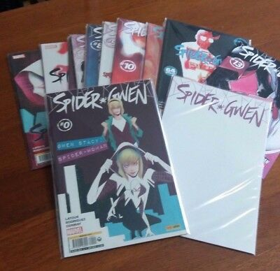 SPIDER-GWEN da 0 a 13 (con N.1 VARIANT) - BLOCCO/LOTTO Marvel