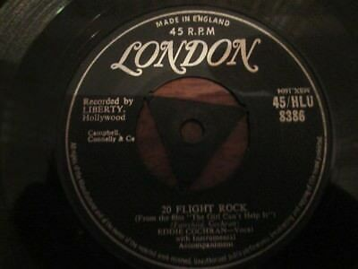 Eddie Cochran.20 Flight Rock.london Hlu8386..1957.