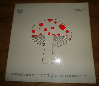 Mushroom ‎– Early One Morning   Original LP Sleeve Only