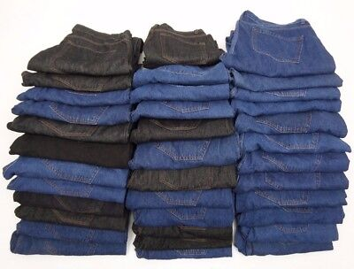 Joblot Ex Collection Jeans 35 PAIRS (GRADE A+B) BNWOT EXCELLENT FOR RESALE  AB11