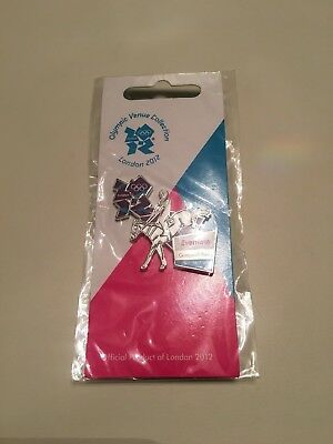 London 2012 Olympic Games Eventing Pin Badge