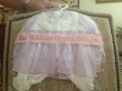 Custom Made Outfit Lavender W/white bottoms #5 Lee Middleton