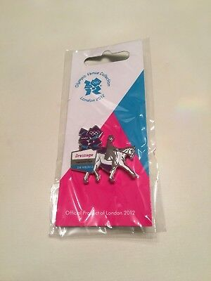 London 2012 Olympic Games Dressage Pin Badge