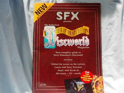 SFX TERRY PRATCHETT'S DISCWORLD MAGAZINE plus POSTER