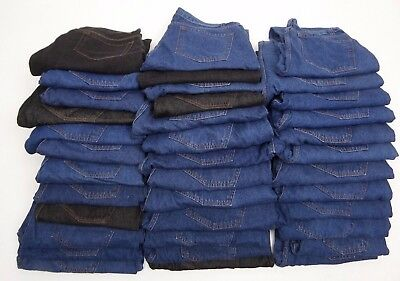 Joblot Ex Collection Jeans 35 PAIRS (GRADE A+B ) BNWOT EXCELLENT FOR RESALE  AB9