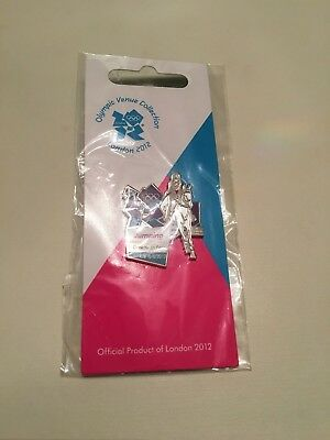 London 2012 Olympic Games Jumping Pin Badge