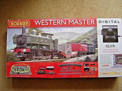 NEW Hornby r1173 Western Master Digital Train Set with eLink OO Gauge.