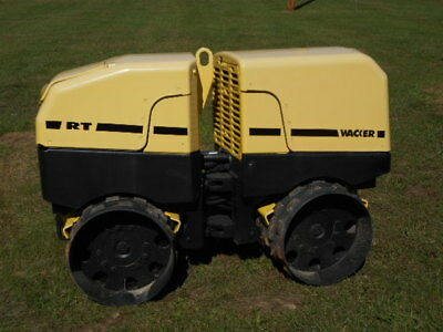"""Wacker Rt Trench Compactor Wireless Remote386 Hours 33"""" No Reserve Absolute Sale"""