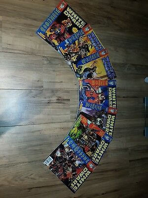 Games Workshop White Dwarf magazines x7