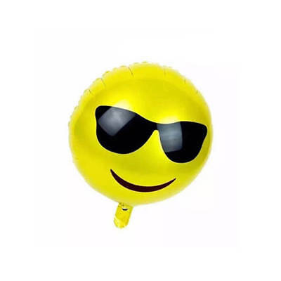 Smile Face DecorationBalloon Wedding Birthday Party Emotional Emoji Foil
