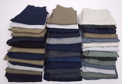 Joblot EX-M&S Chinos 40 PAIRS (GRADE B + ) BNWOT EXCELLENT FOR RESALE  REF:D10