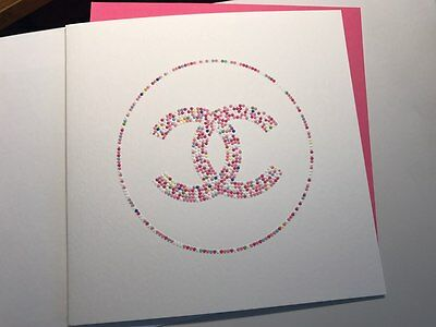 Compliment vip gift from Chanel postcard
