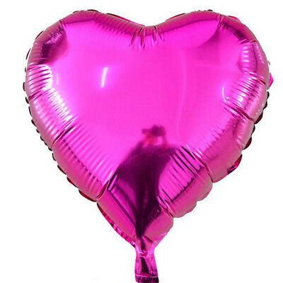 5 Inch Love Heart Foil Helium Balloons Wedding Party Birthday Decoration Red