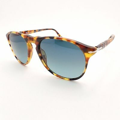 ee75db857c9 Persol 9649 S 1052 S3 Madreterra Blue Fade Polarized 52 New Authentic  Sunglasses