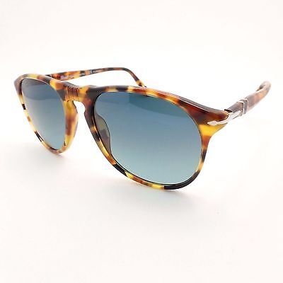 7d413524926c6 Persol 9649 S 1052 S3 Madreterra Blue Fade Polarized 52 New Authentic  Sunglasses