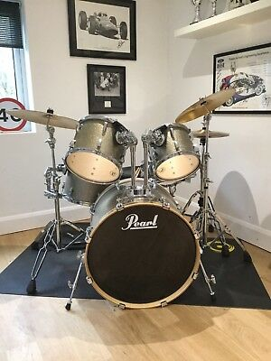 Pearl Export EXR Sparkle Drum Kit - Hardly Used - Excellent Condition