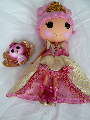 Lalaloopsy Princess Marigold Goldi Lux 33 cm tall - complete with shoes and pet