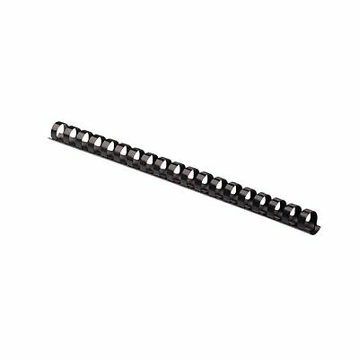Fellowes Plastic Comb Binding Spines 5/8 Inch Diameter Black 120 Sheets 100 P...