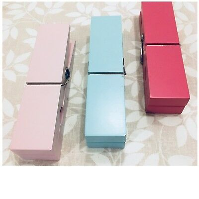 Next 3 Chunky Wall Pegs - Pastel Colours (Photo / Memo Holder)