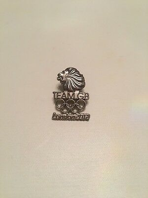 London 2012 Olympic Games Official Team GB Pin Badge.