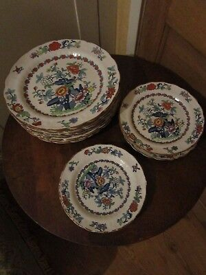 Booth's Pompadour Collection of plates