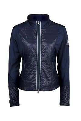 (X-Small, Navy) - Dublin Mia Zip Up Top, Navy (Ladies). Delivery is Free