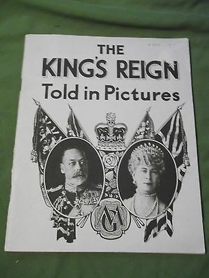 The King's Reign George V Told In Pictures An All British Production 64 pgs