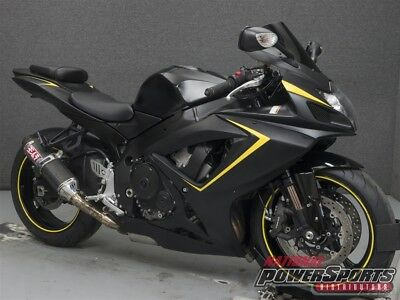 Suzuki GSXR750  2007 Suzuki GSXR750 Used FREE SHIPPING OVER $5000