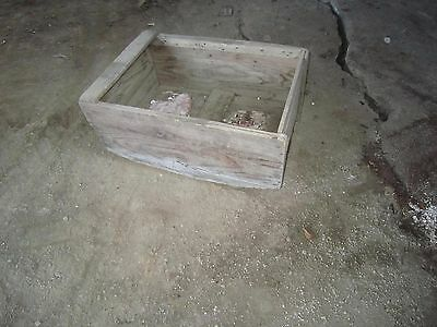 Vintage Antique Barnwood Baby Cradle