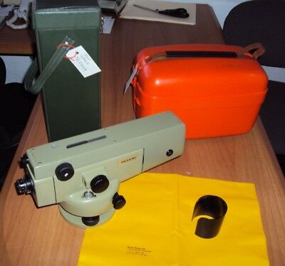 WILD LEICA NA2 WITH GPM3 High Accuracy Precision Level, Certified