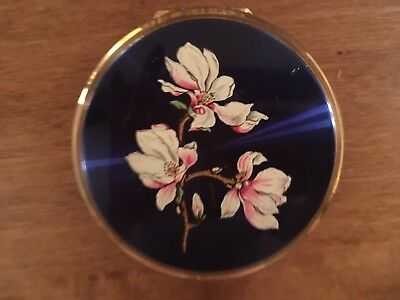 Vintage strawberry Powder Compact