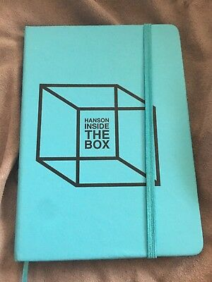 Hanson NEW Rare Blue Inside The Box Journal