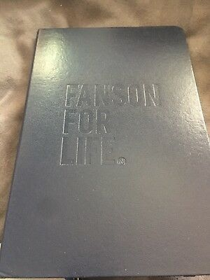 Hanson Rare New Navy Fanson For Life Journal