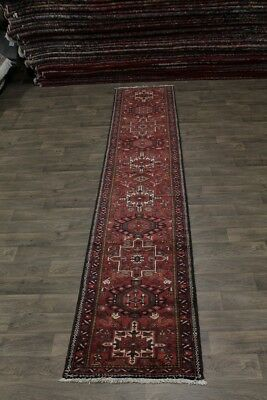Excellent Muted  Palace Runner  Muted Gharajeh Persian Rug Oriental Carpet 2'9X1
