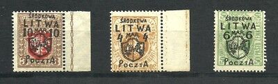 poland, lot set old stamps 1919 , mnh ** full gum