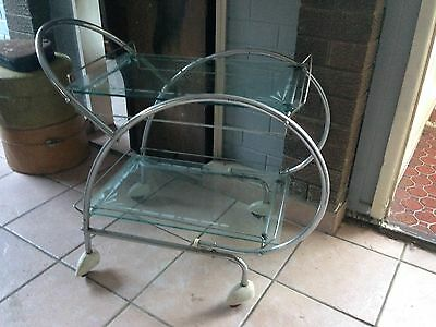 Art Deco/Atomic Drinks Trolley
