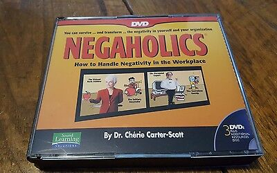 How to Handle Negativity in the Workplace DVD Set Factory Sealed NEGAHOLICS