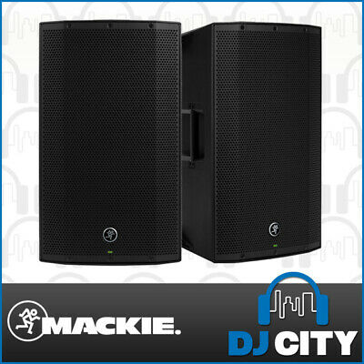 Mackie THUMP12 mk2 Pair 12 Inch Powered PA DJ Speakers 1300W w/ DSP