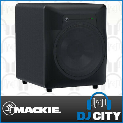 Mackie MRS10 Powered Studio Subwoofer 10 Inch Reference Home Recording Sub