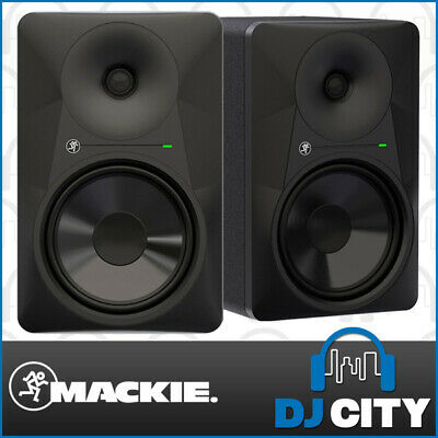 Mackie MR824 Studio Monitors 8-Inch Reference Recording Speaker Pair