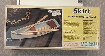 Midwest Products Co. The Skiff Wooden Boat Model #967 See Pics