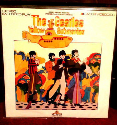The Beatles Yellow Submarine Laserdisc US 1987 USA Version!