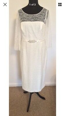 Wedding Dress Size 14 BNWT