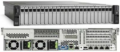 "Cisco UCS C240 M3 2x Xeon 8 Core 2.0Ghz E5-2650 96GB Ram 2x 146GB SAS 2.5"" Rails"