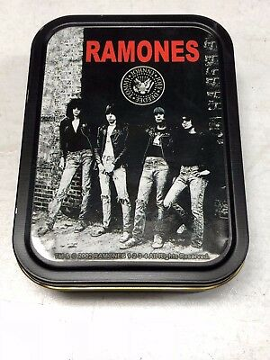 RAMONES Rocket To Russia Tin Box with Magnets, Buttons & More Punk Vintage (?)