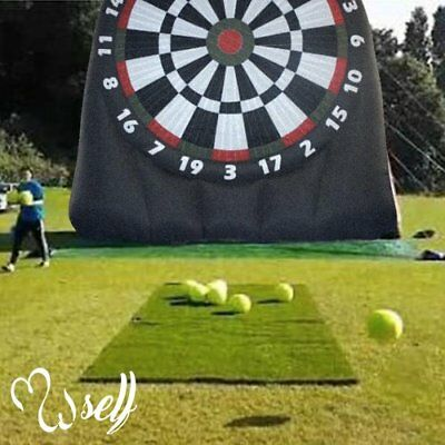 Outdoor Inflatable Soccer Darts Board With 6Pcs Inflatable Ball For Sports